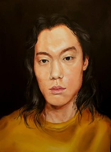 """""""Self Portrait"""" by Jun Lee"""