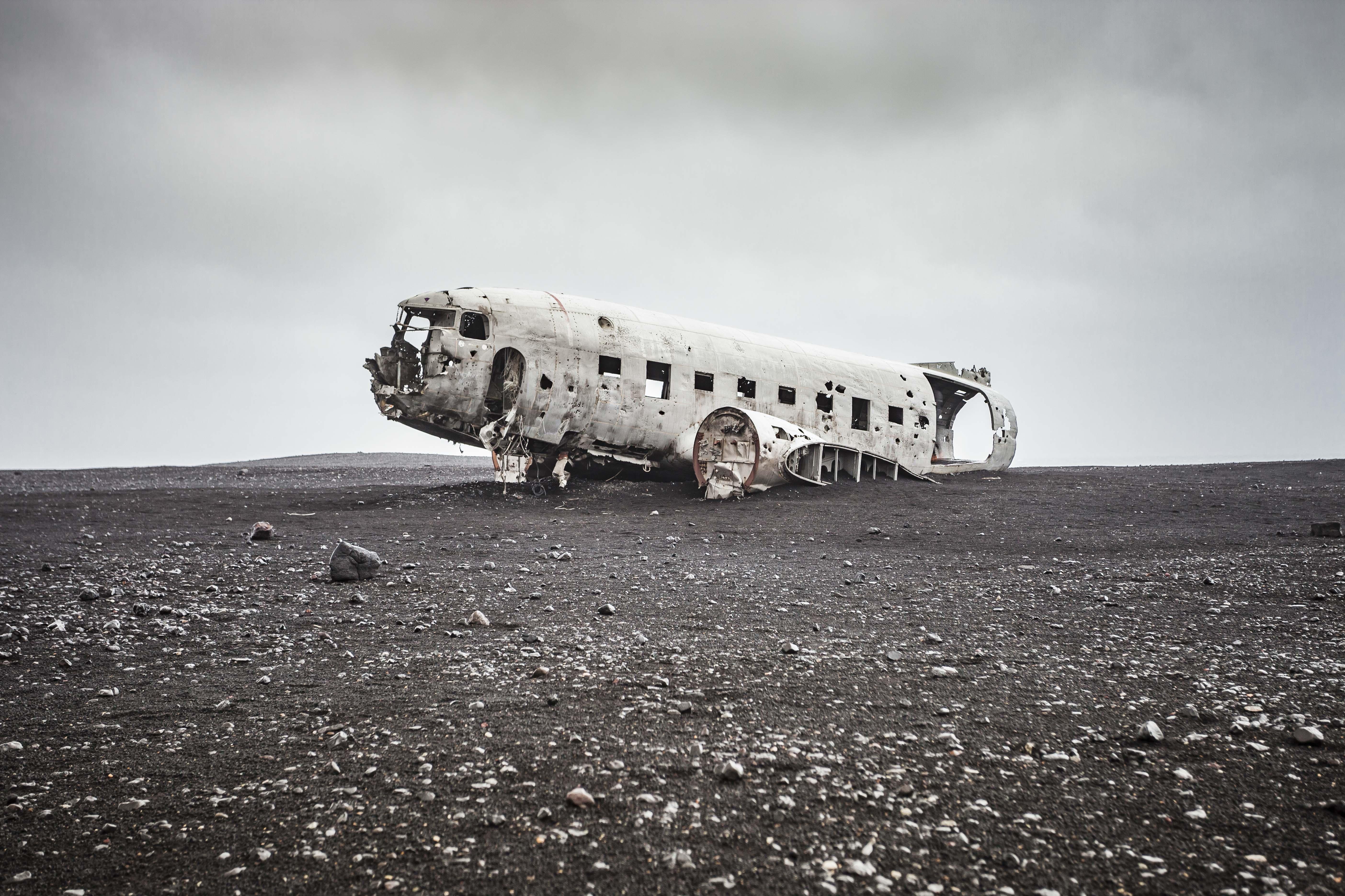 Sólhaimasandur Plane Crash, Iceland