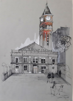 """King Street Station"" by Nhi Nguyen.jp"