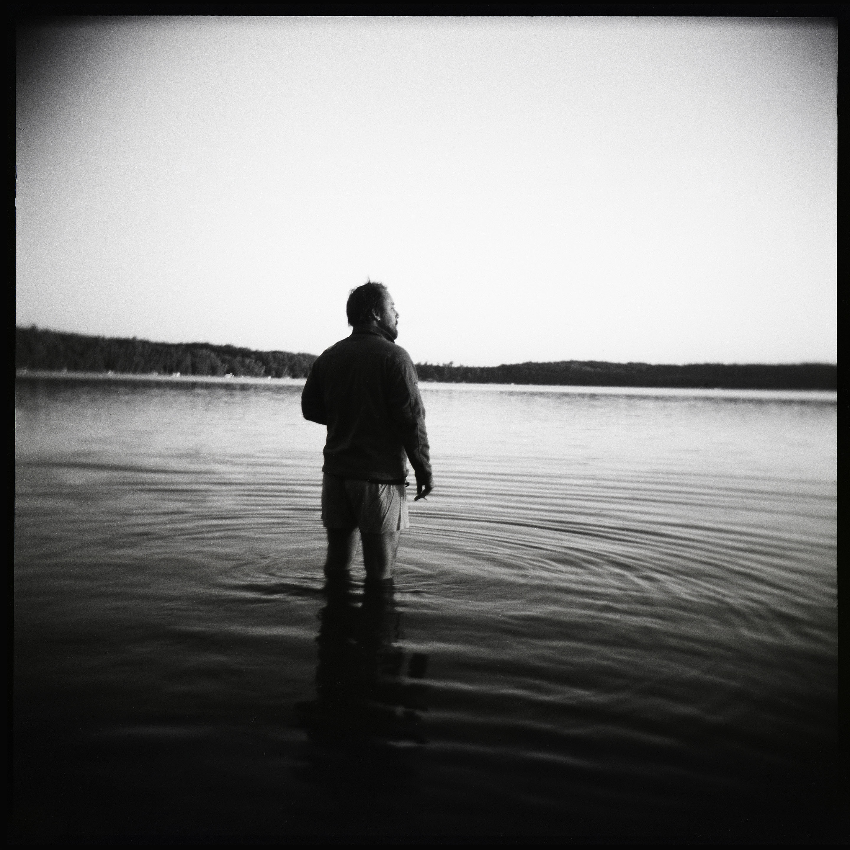 Jacob on Lake Winnibego