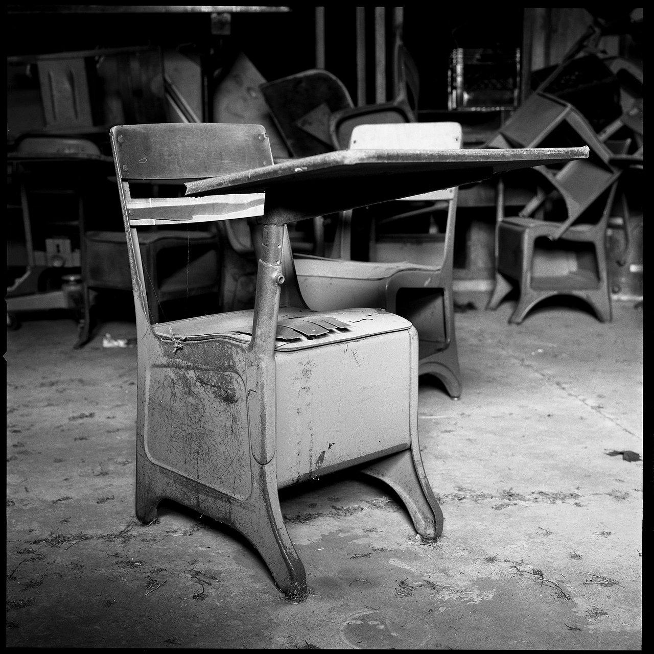 Desk. Morganza HS