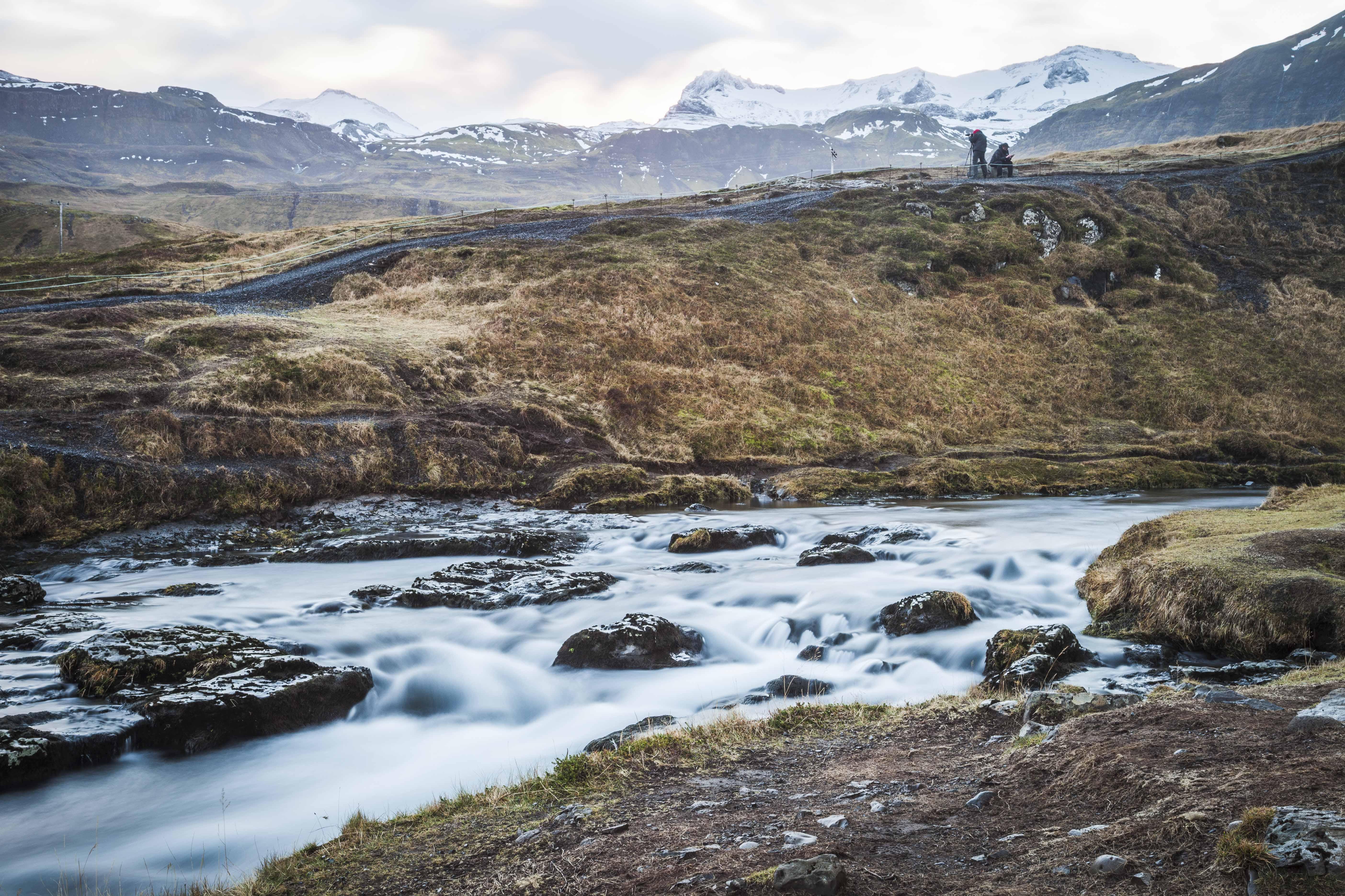 Kirkjufellsfoss II, Iceland. 2016.