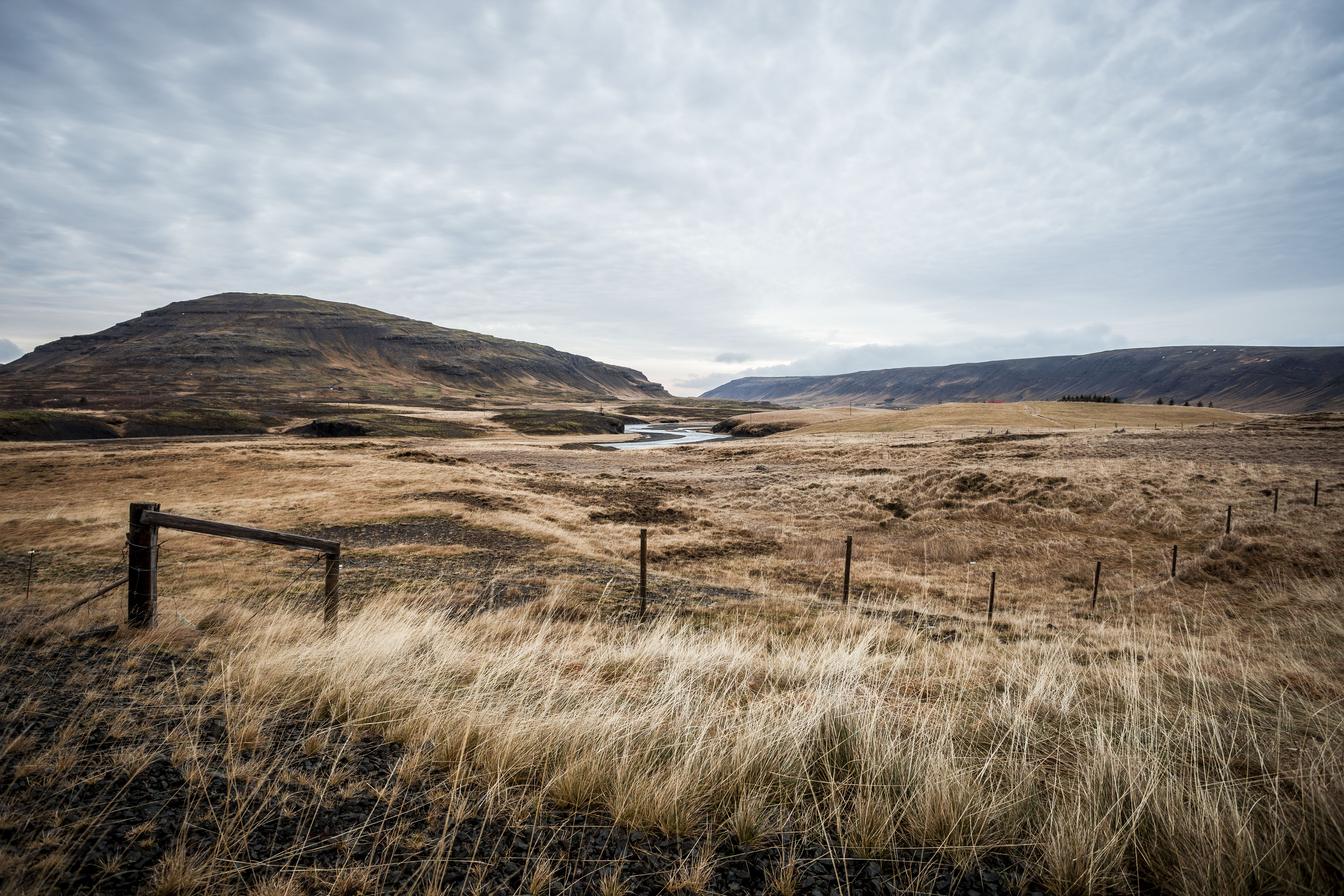Inland Valley. Iceland. 2016.