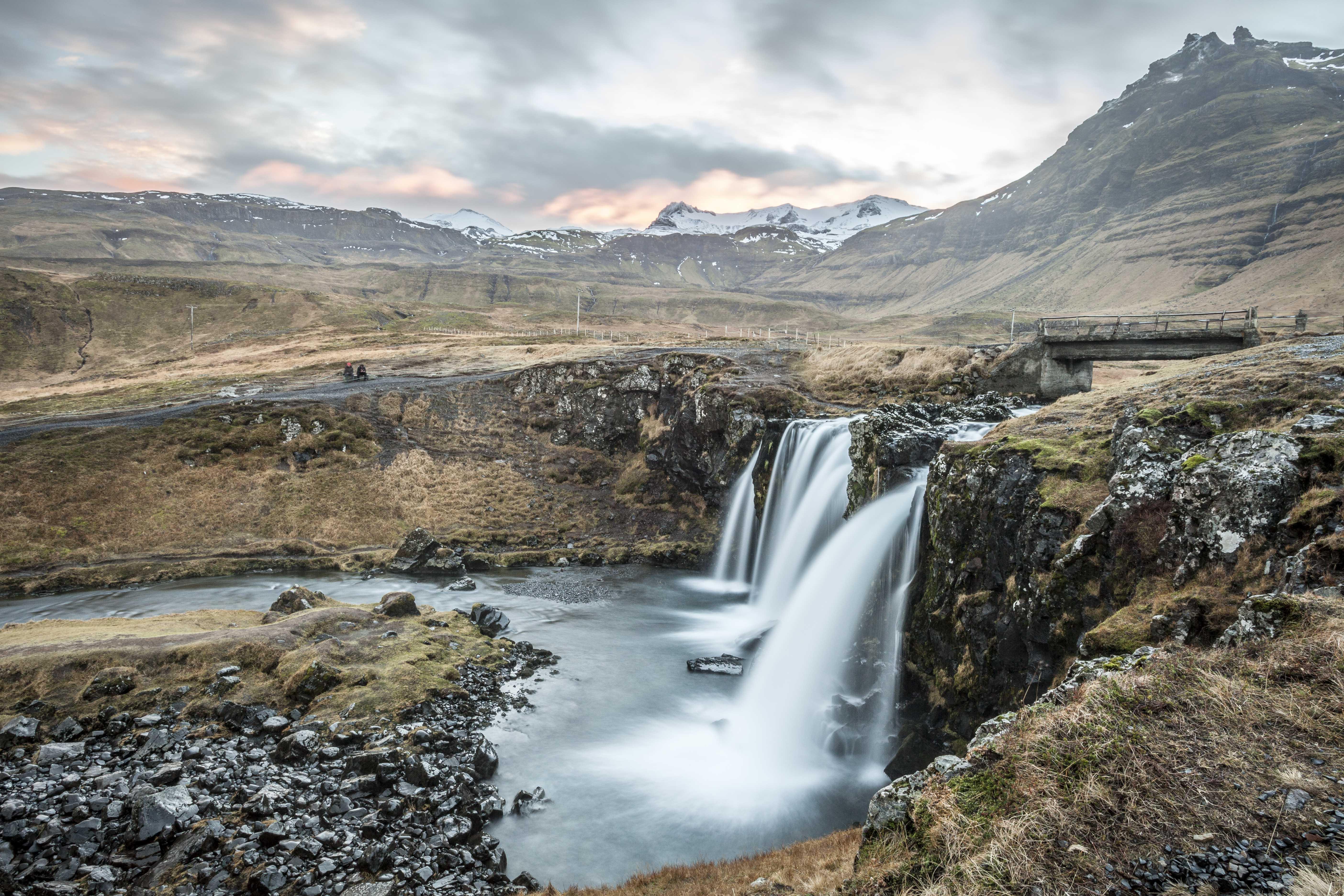 Kirkjufellsfoss I, Iceland. 2016.
