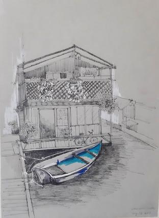 """""""Lake Union"""" by Nhi Nguyen"""
