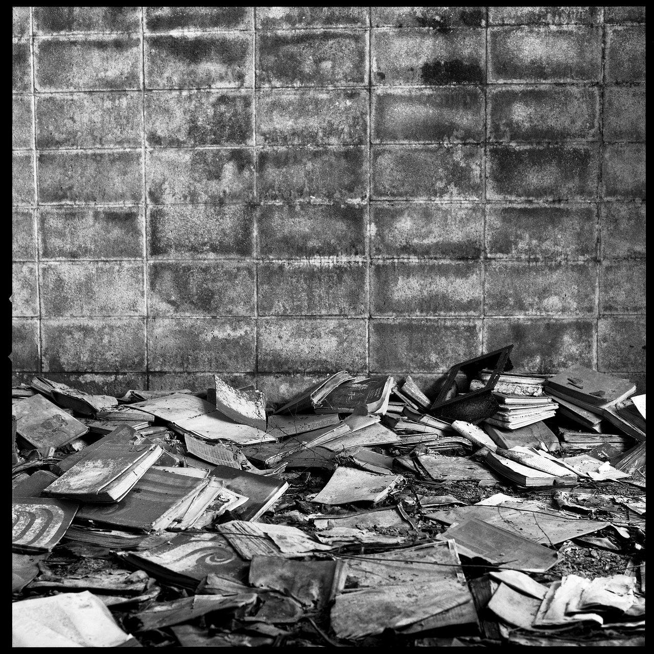 Book Pile.