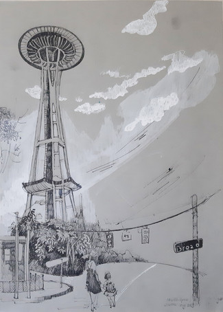 """Seattle Needle Space"" by Nhi Nguyen"