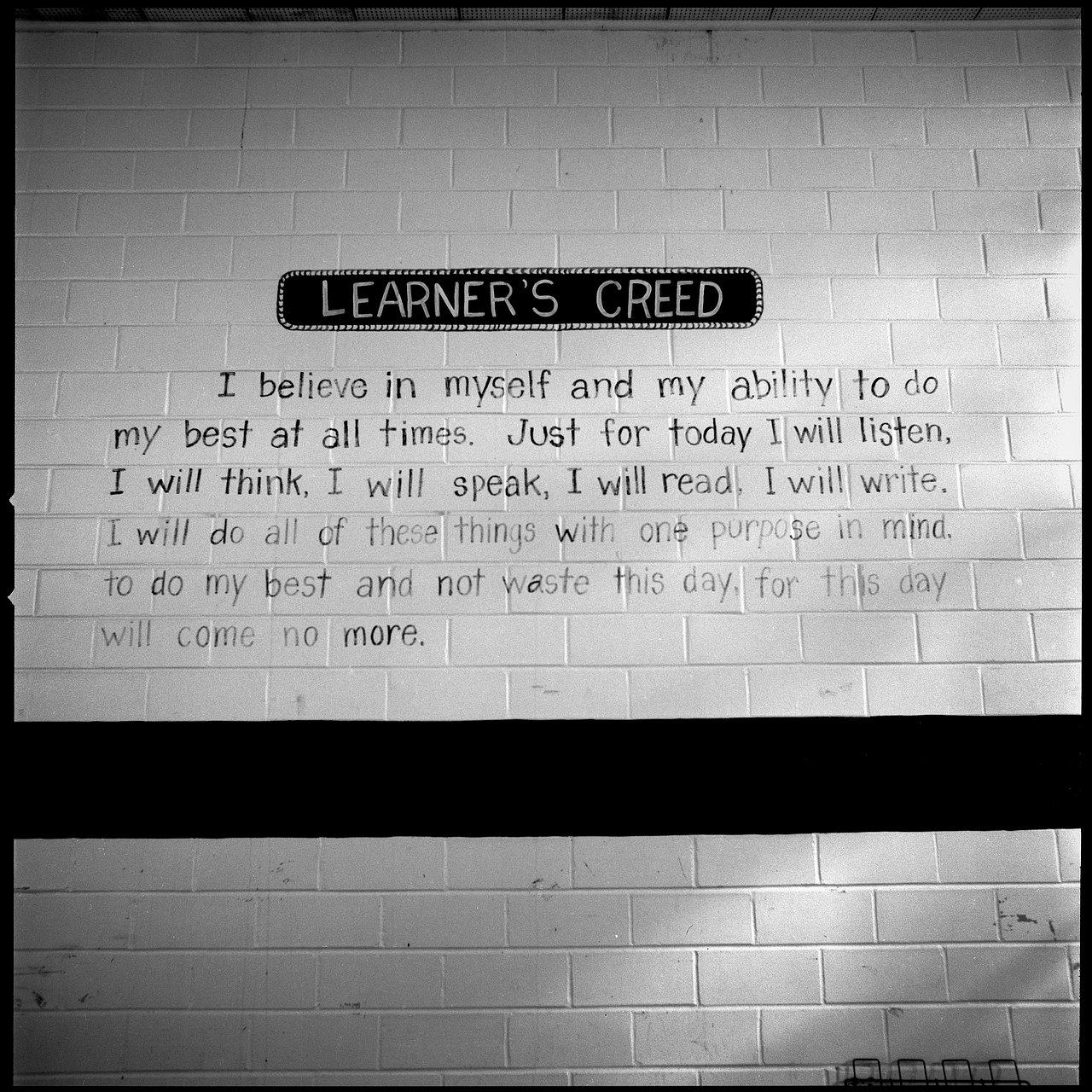 Learners Creed