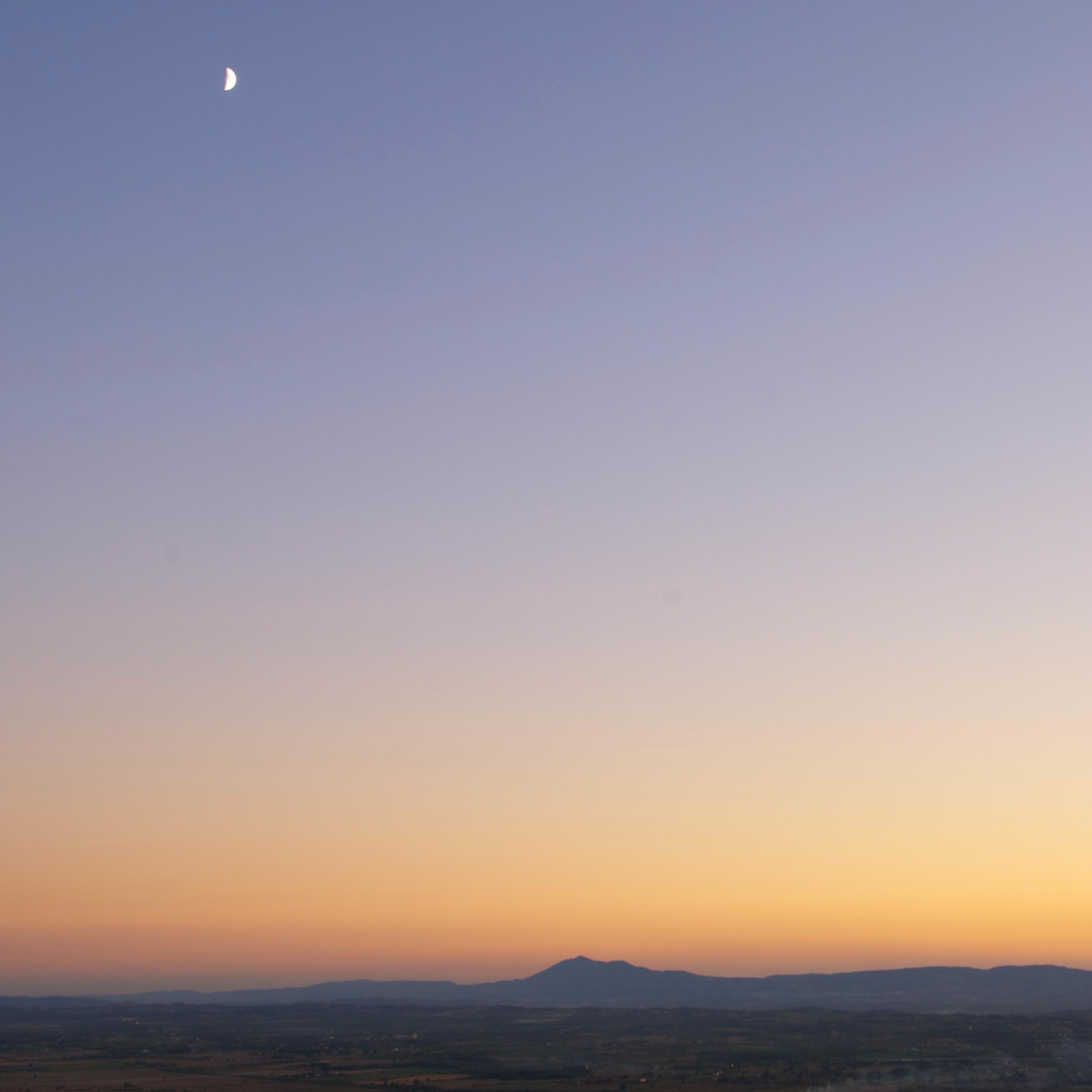 Moonrise Over Monte Amiata