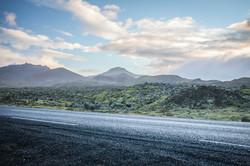 Lava Field Road, Iceland 2016