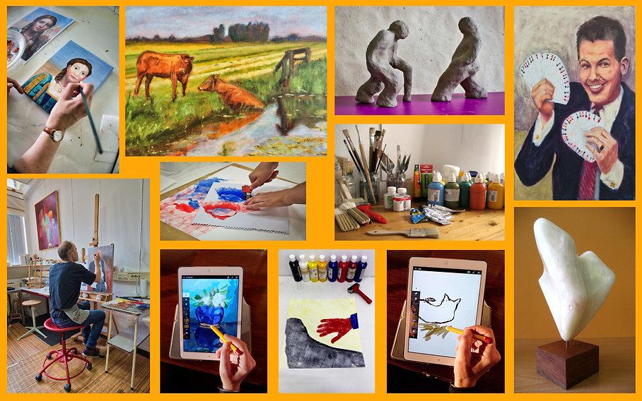 kunstzinnige creatieve dagbesteding autisme Groningen