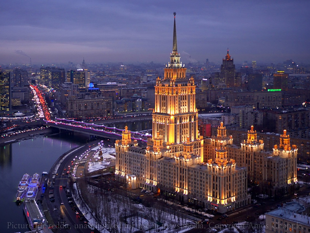 MOSCOW PUBLIC REALM / LIGHTING STRATEGY