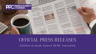 Press Release: Nancy Mercier PPC Candidacy Announcement