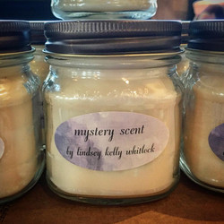 mystery scent soy candles