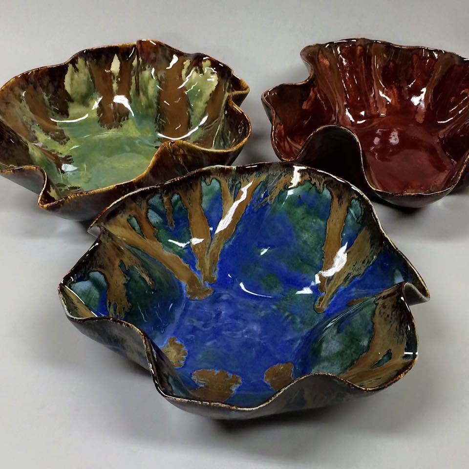 Wavy Bowls