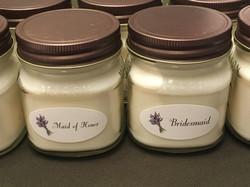 Bridesmaid candles