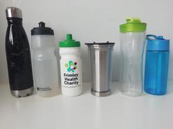 Lonely water bottles