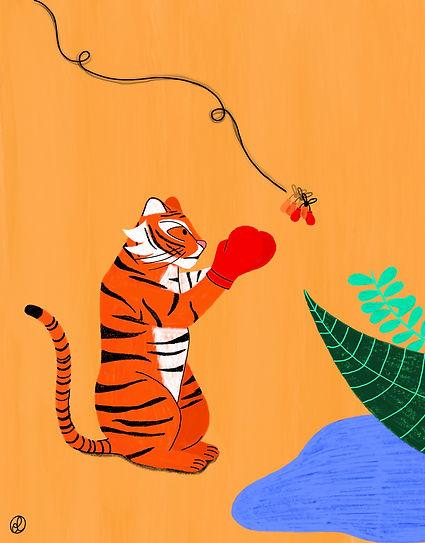tiger punching.JPG