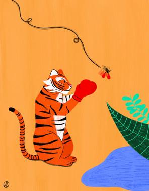 Tiger punching