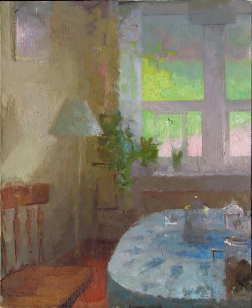 Window-Table. Daylight