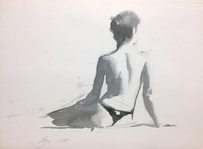 Seated Model 03-2018
