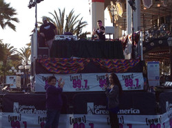 DJ Main Stage Great America Event