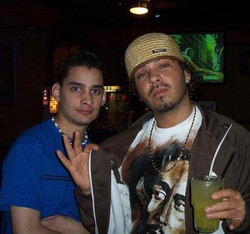 DJ'ing with R&B singer Baby Bash