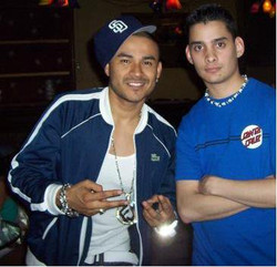 DJ'ing with R&B singer Frankie J