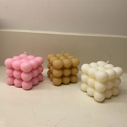 Bubbly Candle