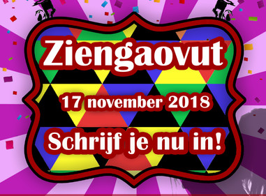 Inschrijving Ziengaovut 2018 geopend!