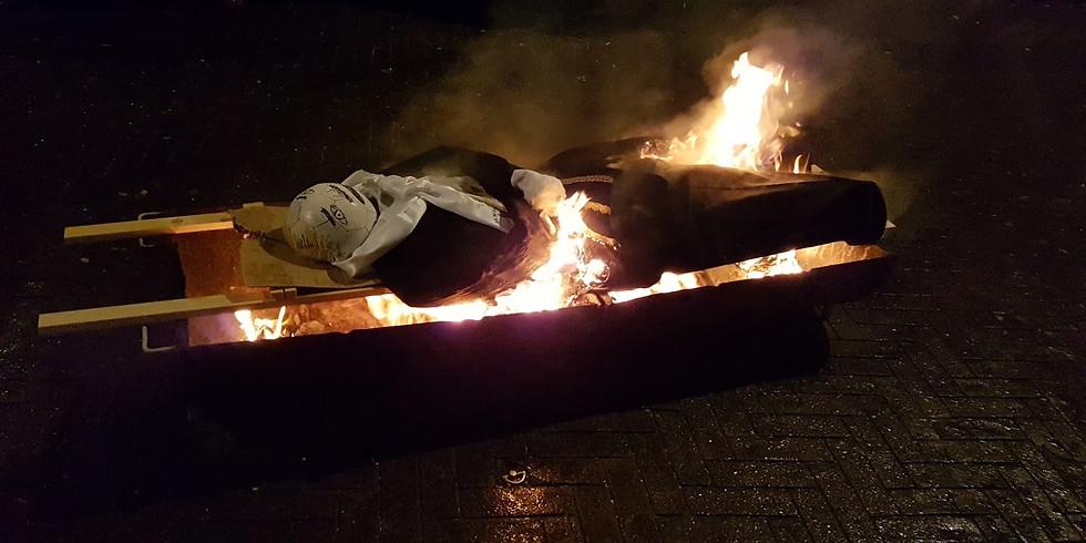 Verbranden van 't Manneke