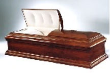 Jewish Funeral Home Westchester New York - O39 Beaded Poplar Wood Casket $2995.00