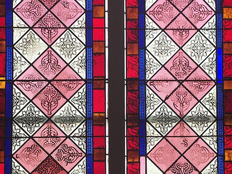 Stained Glass Restoration begins end of June!