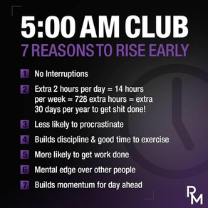 5am club and why join it