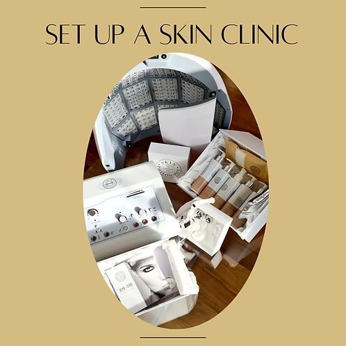 'Set Up a Skin Clinic' Kit