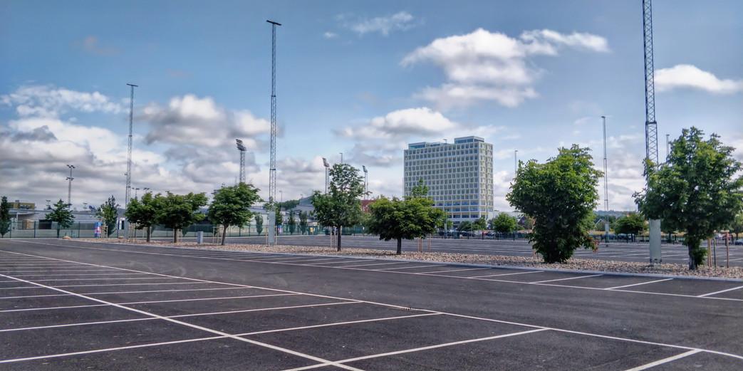 Projekt: Åby travet parkering