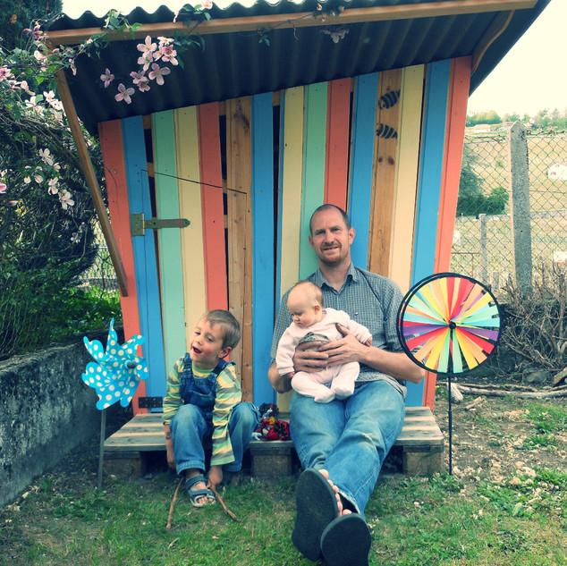 Cabane pour mes enfants