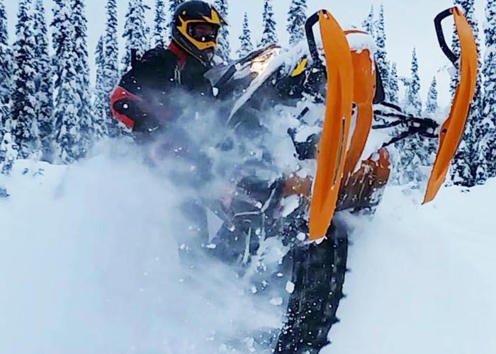 """""""Snowkickers"""" Trail"""