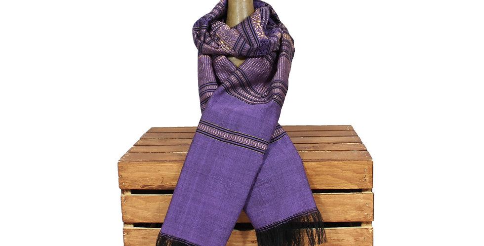 Lavender Oversized Silk