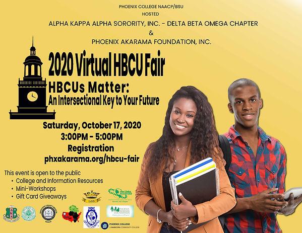 HBCU 2020 Flyer - Draft - Black  Letters
