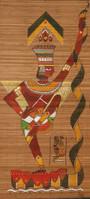 Bamboo Mat Painting