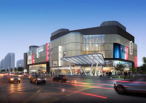 Zhengzhou Tiandi Bay retail , Henan Province