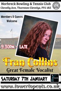Fran Collins Norbreck Bowling Club
