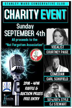 Stanley Ward Charity 4th Sept