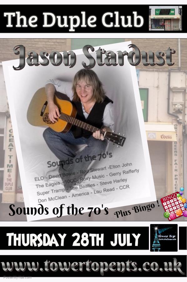 Jason Stardust 28th July