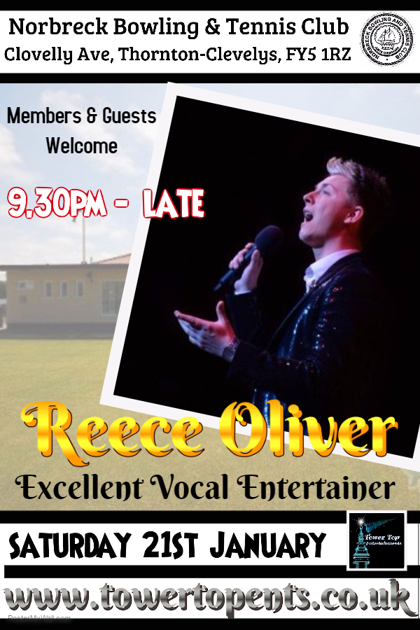Reece Oliver Norbreck Bowling Club