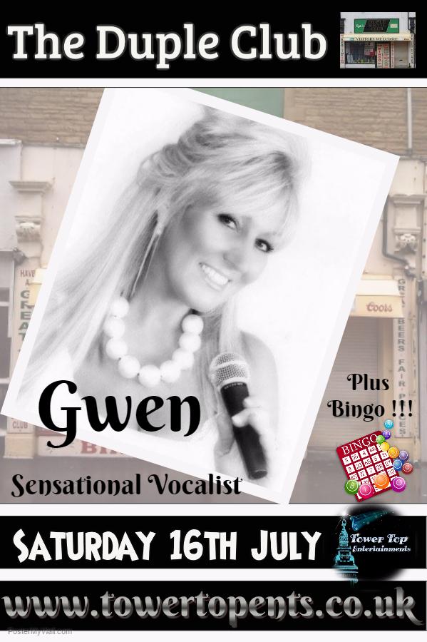 Gwen 16th July Duple