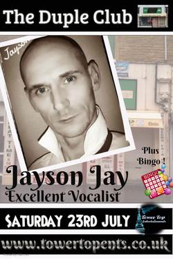 Jayson Jay 23rd July
