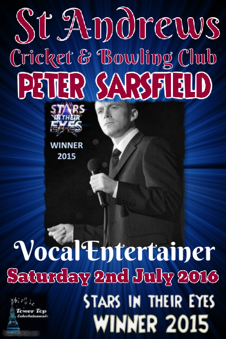 2nd July Peter Sarsfield