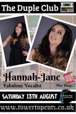 Hannah Jane 13th Aug